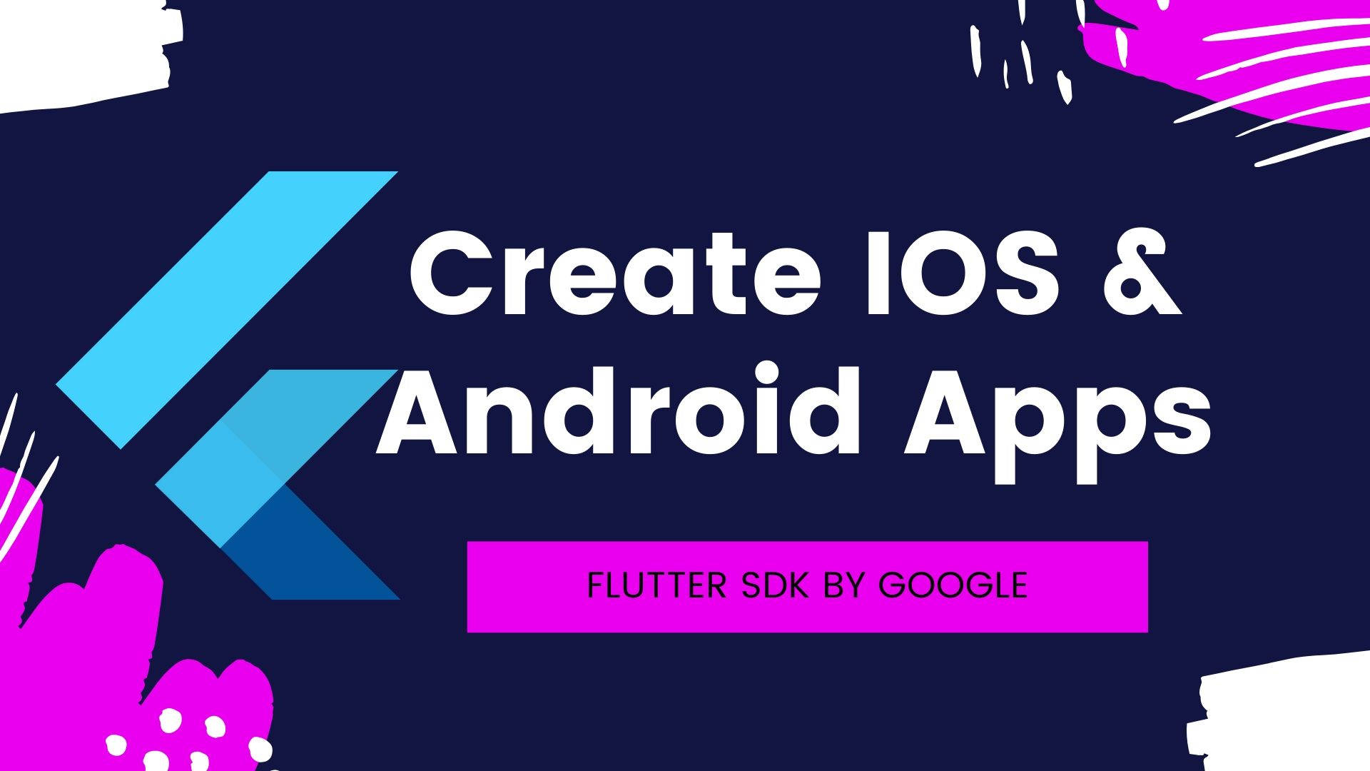 IOS & Android with Flutter - A world of widgets